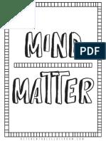 growth mindset printable coloring sheets