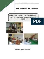 PDC AMARILIS-2005-2015