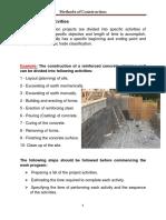 2 Construction Activities