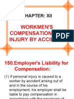 Chapter-12 WORKMEN'S COMPENSATION FOR INJURY BY ACCIDENT