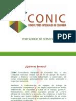 Portafolio de Servicios CONIC