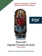 Sagrado Corazón de Jesús. Propio y Ordinario de la santa misa