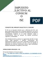 Impuesto Selectivo Al Consumo Isc 2020
