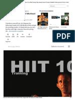 Jim Stoppani Hiit 100 Workout & Six-Week Training _ High Intensity Interval Training _ Kettlebell _ Prueba gratuita de 30 días _ Scribd