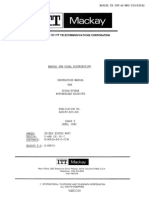 ITT Mackay Instruction Manual for Model 3030A-3030AR Synthesized Receiver Issue 3 June 1982.docx