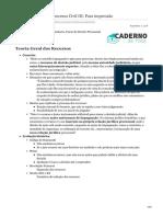 cadernodatata.com.br-Compilado prova 1- Processo Civil III Para impressão