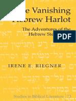 Irene E. Riegner, The Vanishing Hebrew Harlot