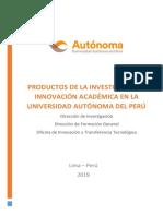 PRODUCTOS ACADÉMICOS v1.0