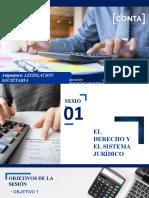 SESION 1 - EL DERECHO Y EL SISTEMA JURIDICO.pptx