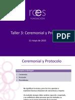 Taller 3 Ceremonial y Protocolo