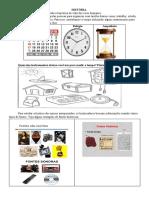atividades adaptadasvHistoria, tempo, fontes e linha do tempo pdf