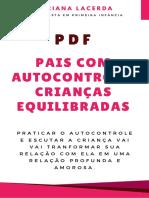 PDF Pais com Autocontrole, Crianças Equilibradas