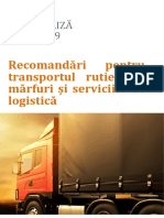 Transport de Marfuri Si Servicii Logistice