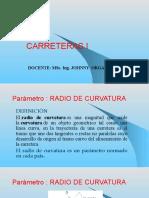 Presentacion 5 RADIO DE CURVATURA-GRADO DE CURV.