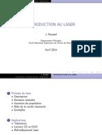 Presentation Laser