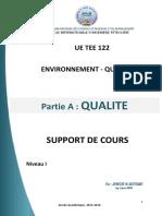 COURS ENVI-QUAL 2016-2017 Partie QUALITE
