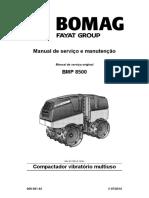 Manual de operação - BMP8500 (Português)