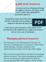 Unlicensed Managing Physical Resources 4