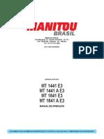 Manual de operação - MTX 1841