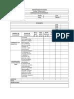 Rubrica Evaluación IDRISCA