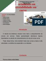 comportamento em curva ou estabilidade em curva.pptx