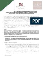 Protocolo de uso de cuenta de correo electrónico y presentación de escritos en la Corte Suprema
