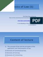 Basics of Law (S) 1