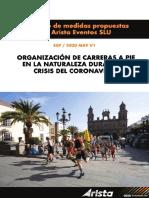 Protocolo Seguridad Carreras de Montaña Arista Transgrancanaria 2021