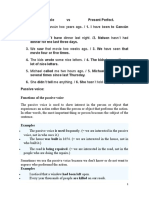 Passive voice And other Grammar topics 4