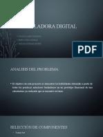 CALCULADORA DIGITAL PRESENTACION
