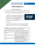 Enunciado Producto académico N°2TA01 - Filosofía