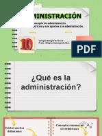 Tema de administración 1y 2