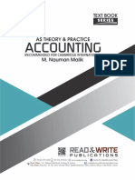 115 AS Accounting Theory & Practice Text Book