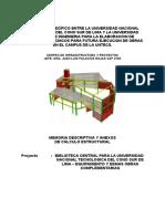 Memoria Descriptiva Estructuras 3da etapa.doc