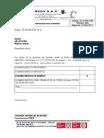Orden para Examenes Medicos Ingreso
