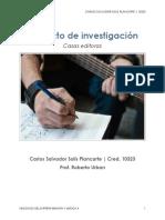 Carlos Solis - Proyecto Final