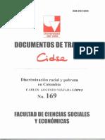 Documento de Trabajo No. 169