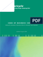 Code of Business Conduct (2009)