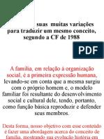 A Família - Muitas Variações Para Traduzir Um Mesmo Conceito