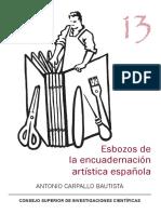 Antonio Carpallo Bautista - Esbozos de la encuadernación artística española.pdf