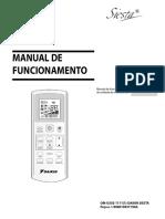 ATXN L ARXN L Operation Manuals Portuguese