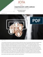 Economia comportamental e análise antitruste - JOTA Info.pdf
