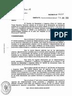 Decreto N° 537/20 - Provincia de Santa Fe