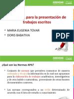 NORMAS APA PRESENTACION (Nancy Riveros)