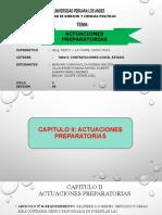 TRABAJO DE CONTRATACIONES CON EL ESTADO ACTUACIONES PREPARATORIAS.