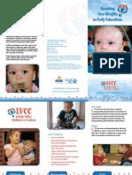LVCC Infant / Toddler Brochure