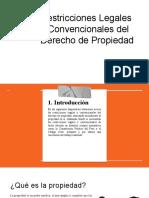 Restricciones legales y convencionales del derecho de propiedad.pptx