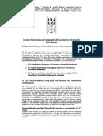 a de La Lucenra - Criterii Pentru Dezvoltarea Curiculei Sustenabile