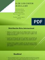 COSTOS DE LA DISTRIBUCIÓN FISICA INTERNACIONAL