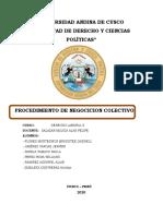 LOS PROCEDIMIENTOS DE NEGOCIACIÓN COLECTIVA.docx